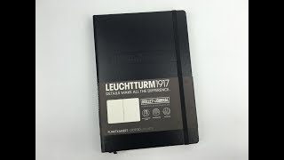 Leuchtturm1917 Bullet Journal Notebook A5 Review (Pros and Cons)