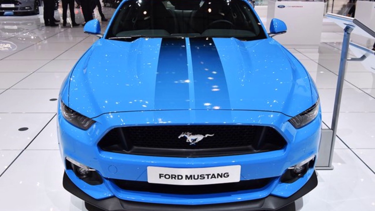 ford mustang grabber blue  dream car youtube