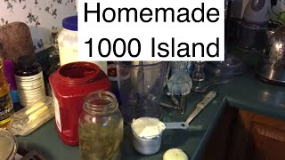 How to Make Thousand Island Dressing  Homemade 1000 Dressing at AldermanFarms