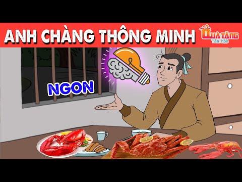 ANH CHÀNG THÔNG MINH   Truyện cổ tích Việt Nam   Phim hoạt hình  Chuyện cổ tích   Quà tặng cuộc sống