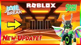 🔴 Roblox Jailbreak New Bank Robbery UPDATE Today! Bataille Royale et plus, Venez rejoindre! 🔴
