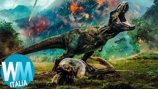 Top 10 FOLLIE SCIENTIFICHE nella saga di JURASSIC PARK!
