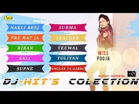 Miss Pooja || Dj Hits Collection || Audio HD Jukebox || Latest punjabi songs 2018 l Anand Music