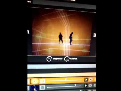 Test Vj Set + VideoMapping (Loading mode)