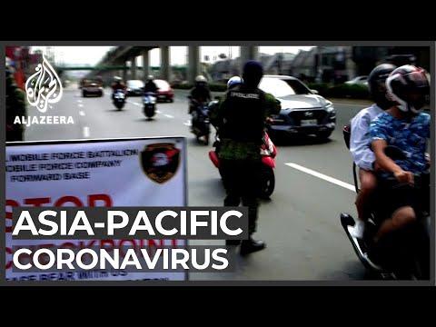 Asia Pacific countries tighten measures against coronavirus