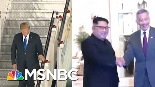 Why North Korea's Horrific Human Rights Record Will Take A Back Seat | Craig Melvin | MSNBC