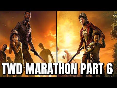 """GOODBYE """"TELLTALE'S WALKING DEAD"""" MARATHON - The Walking Dead:Season 4 """"Take us Back"""" IN 4 DAYS"""