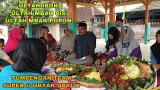 ULTAH IBUK YUNI DAN MBAH SIS TUMPENGAN ( Syukuran bersama Team Dimas Zaenal SUPER dan Ubyak Byuk )