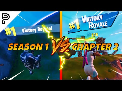 From Season 1 To Chapter 2 Of Fortnite... (How Parallel Evolved)