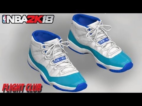 2d3d176b6e0 NBA 2K18 HOW TO MAKE AIR JORDAN 11