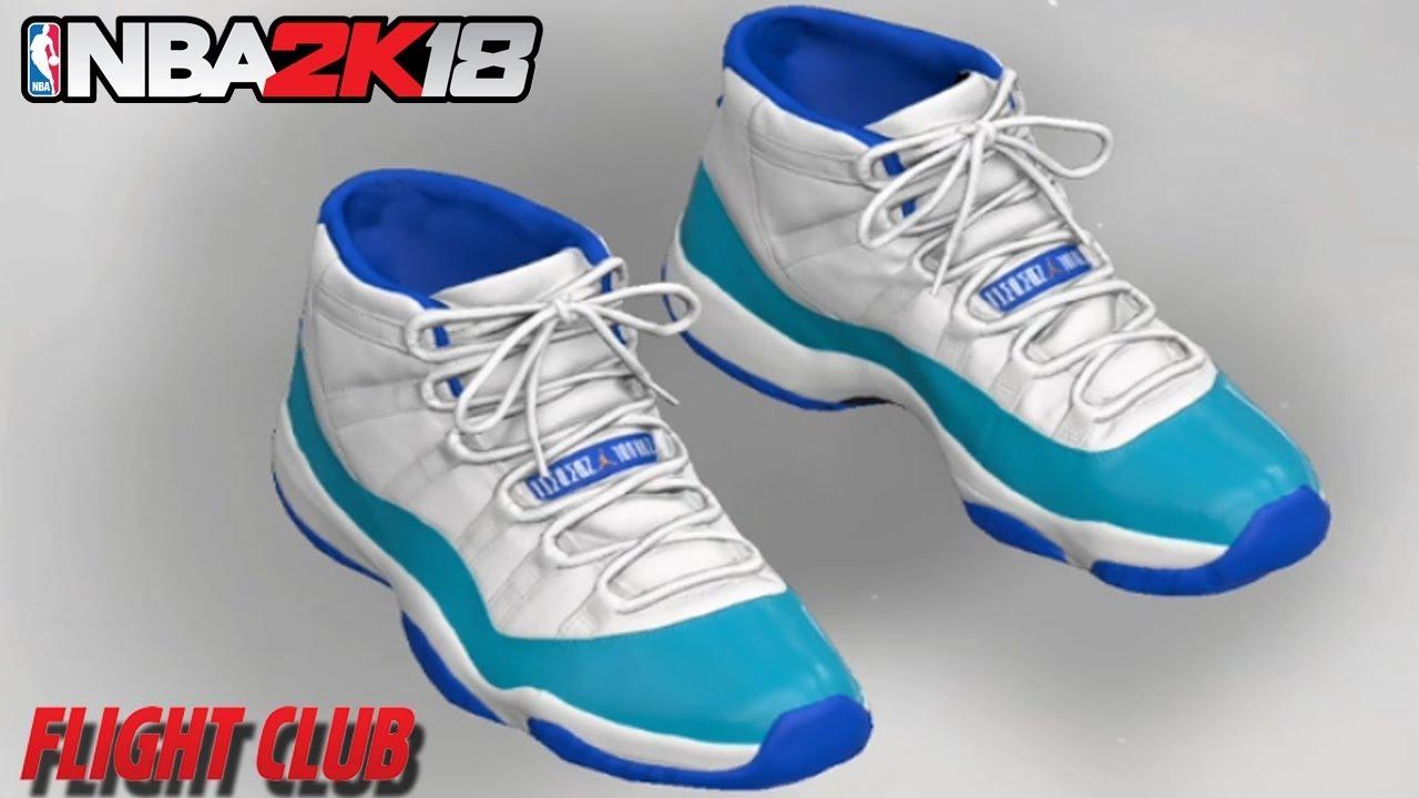 cheap for discount 271b7 93bbe NBA 2K18 HOW TO MAKE AIR JORDAN 11
