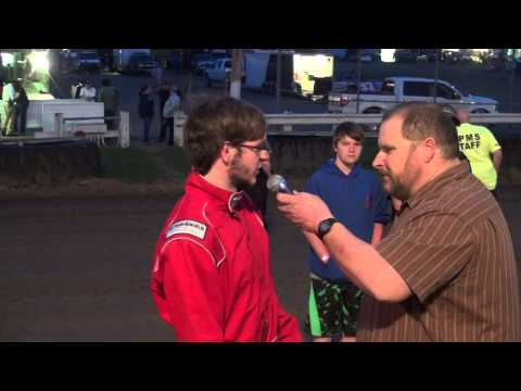 O. B. Huff, Young Guns winner at Pittsburgh's PA Motor Speedway 4/18/15