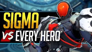 Overwatch Sigma vs Every Hero - All Counters, Strengths, & Weaknesses