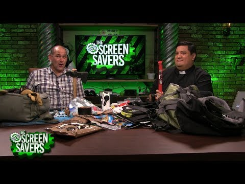 The New Screen Savers 122: Building a Bug-Out-Bag for the Zombie Apocalypse