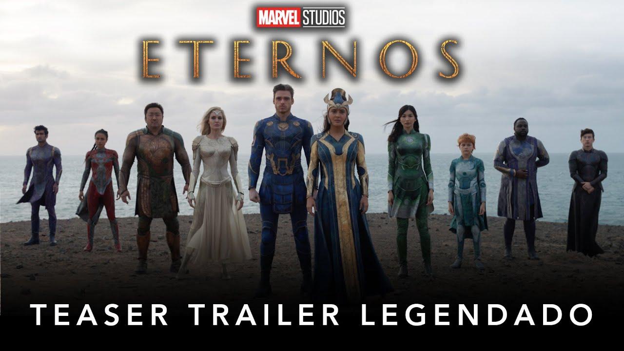 Download Eternos | Marvel Studios | Teaser Trailer Legendado