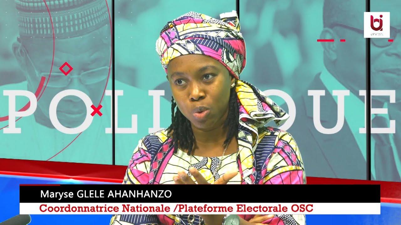Présidentielle 2021 au Bénin. OSC et  Parrainage. Maryse Glèle AHANHANZO sur Diagonale - Wanep Bénin