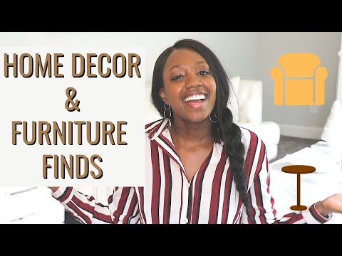 AMAZON HOME DECOR AND FURNITURE FINDS!