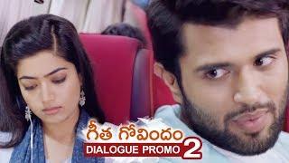 Geetha Govindam Movie Dialogue Promo 2 | Vijay Deverakonda, Rashmika, Parasuram