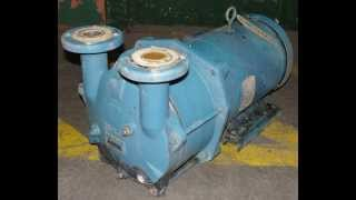 SIHI model LEMB 170 single stage liquid ring vacuum pump(, 2014-01-01T03:44:55.000Z)