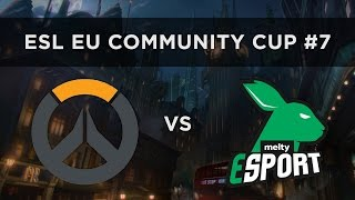 ESL Overwatch EU Community Cup #7 - Impulse 11 vs Melty eSports - Semifinals