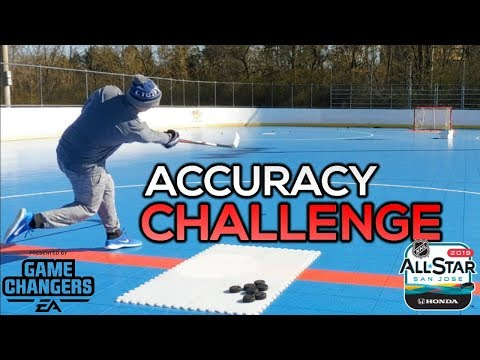 NHL ALL STAR - ACCURACY TARGET SHOOTING CHALLENGE   NHL 19 PACK CHALLENGE