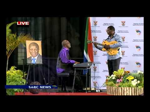 Don Laka pays tribute to Collins Chabane