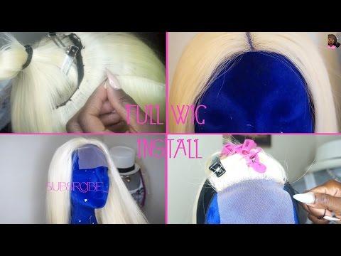 Full Wig Install /UNICORN HAIR