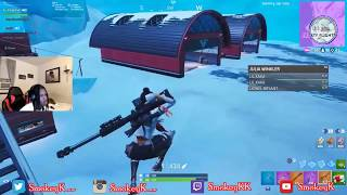 A Team Tried To Do A (No Kill Game Fortnite Challenge) Against Me  SO Of course This happened...