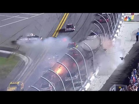 Several fans hurt during horrific finale to NASCAR race