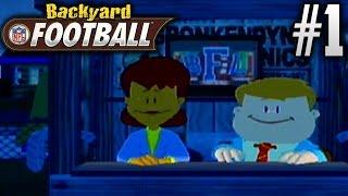 Backyard Football (GameCube) | Season Mode | EP1 | OH BOY