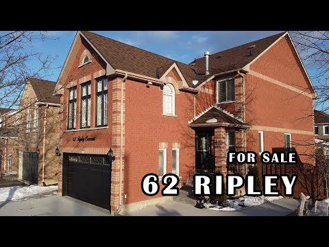 62 Ripley Crescent - Listing Tour - Home For Sale Brampton Ontario Real Estate