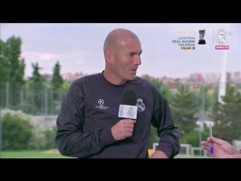 Zinedine Zidane   Real Madrid Open Media Day Final Champions 2017