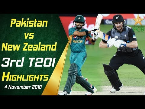 Pakistan Vs New Zealand | 3rd T20I | Highlights | 4 November 2018 | PCB