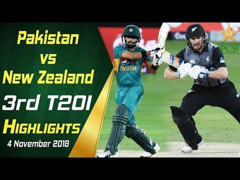 Pakistan Vs New Zealand | 3rd T20I | Highlights | 4 November 2018 | PCB thumbnail