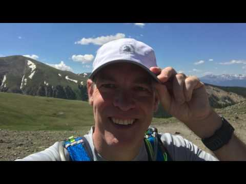 2017 Silver Rush 50 Run (trail ultramarathon in Leadville, Colorado) - Gavin MacBeath