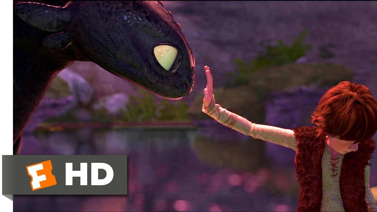 How to Train Your Dragon (2010) - Dinner With A Dragon Scene (2/10) | Movieclips