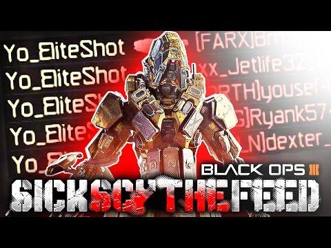 SICK BLACK OPS 3 SCYTHE FEED!