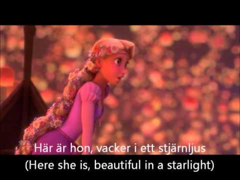 Tangled - I see the light (Swedish) S & T
