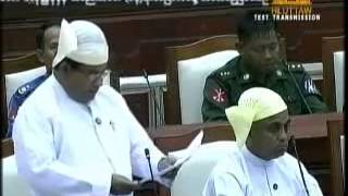 Rohingya MP U Shwe Maung Explained on Amendment 1982 Citizenship Law.25.7. 2012 by Bolu Finland