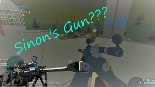 [Roblox - Phantom Forces] Playing as SINON?!?! (Hecate II)