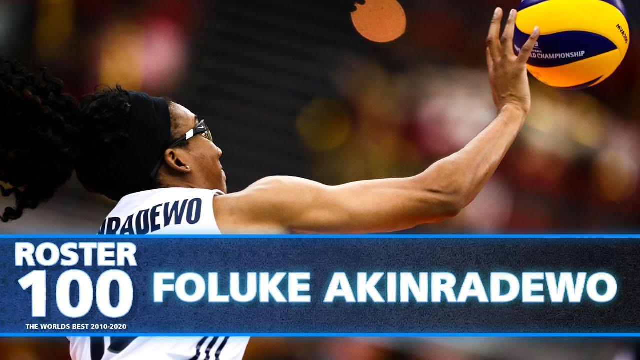 Download Most Impressive Plays by Foluke Akinradewo! 🇺🇸🏐   Best of Volleyball World   #ROSTER100