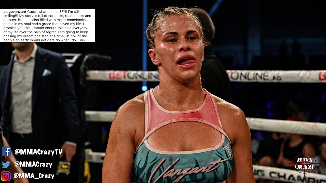 Paige VanZant issues statement following BKFC 19 loss to Rachael ...