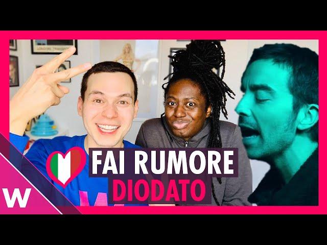 Italy Eurovision 2020 Reaction - Diodato