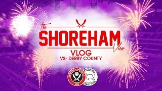 Sheffield United VS Derby County | Vlog A Better Day at The Office
