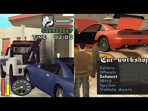 New Car Workshops in GTA San Andreas Multiplayer