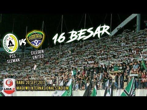 Match Ambience di laga Pss Sleman 2 vs 1 Cilegon United