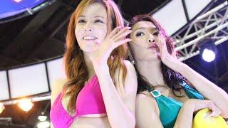 150626 - ROLA vs NoNo Sexy Car wash Battle @  Bangkok International Auto Salon 2015