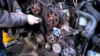 timing belt installation on a VW passat 1.9 TDI