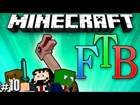 "Minecraft: Feed the Beast #10 ""WILL IT HATCH?!"""