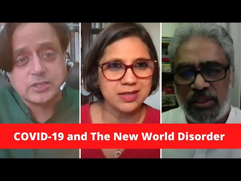 COVID-19 And The New World Disorder I Shashi Tharoor | C Raja Mohan